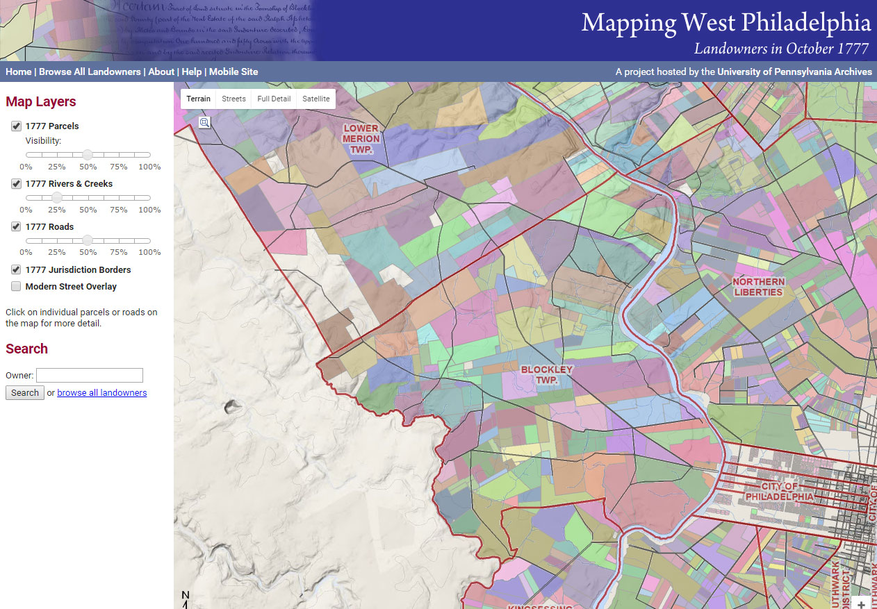 Mapping West Philadelphia
