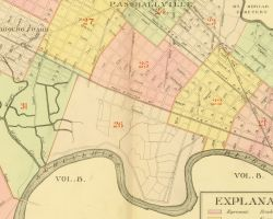1892 Atlas of the 27th Ward, West Philadelphia - Index Map