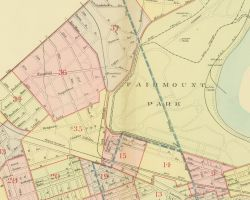 1911 Atlas of the 24th, 34th, and 44th Wards, Philadelphia