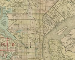 1916 Atlas of Philadelphia (West Philadelphia) - Index Map