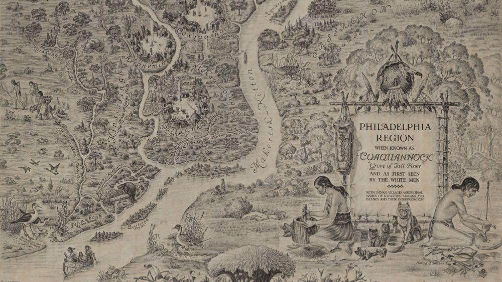 When the Philadelphia Region was Known as Coaquannock