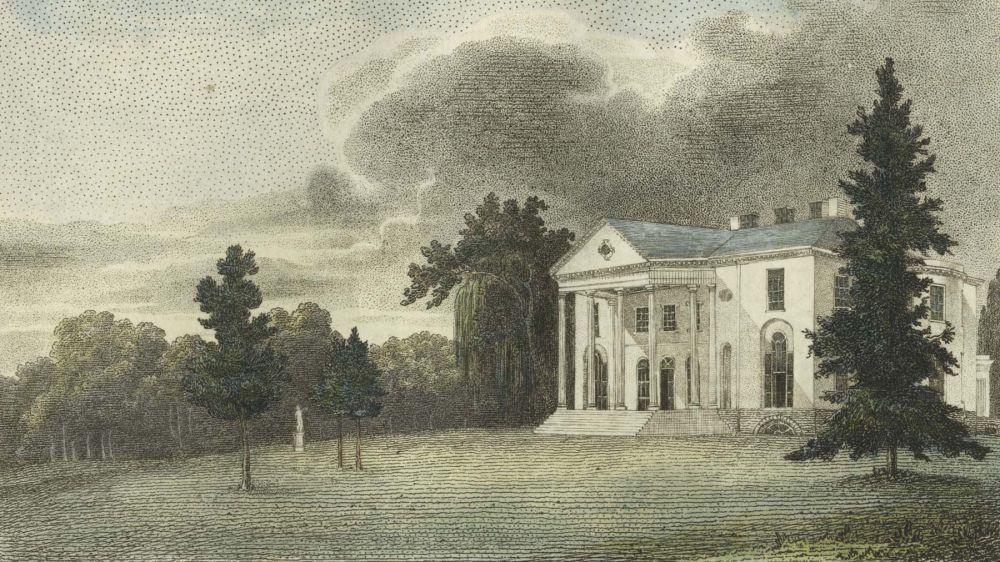 Woodlands, the Seat of Mr. Wm. Hamilton