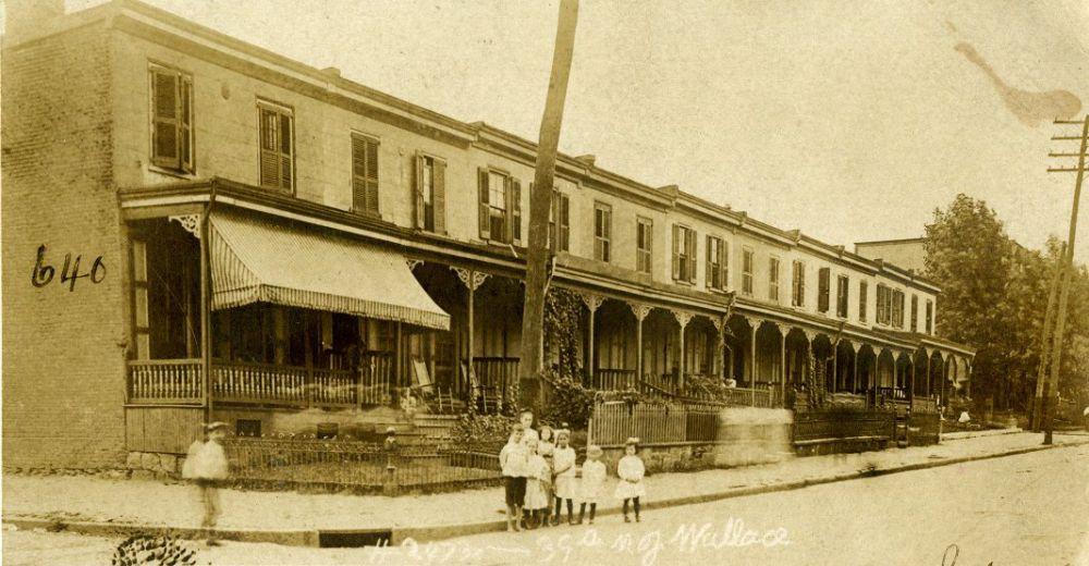 Rowhouses on 39th Street