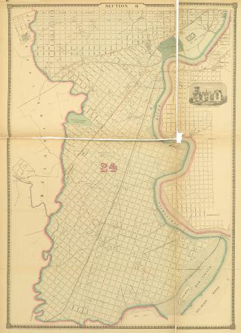 1862 Atlas of the City of Philadelphia - Plate 9