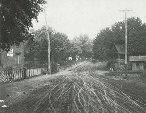 Angora train stop, 1906