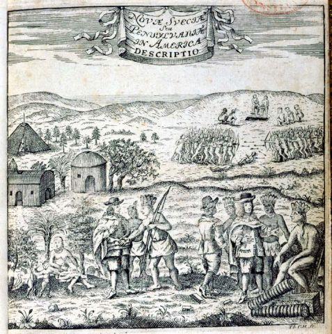 Swedish Encounter with the Lenape