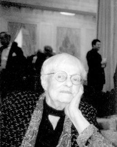 Ruth Branning Molloy, 2001