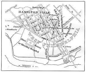 West Philadelphia, 1839